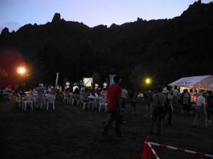 有珠山山頂夜祭