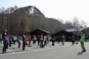 昭和新山学習登山会