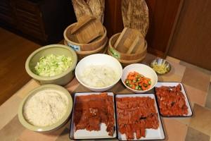 飯鮨の材料