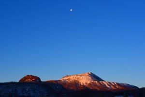 今朝の有珠山