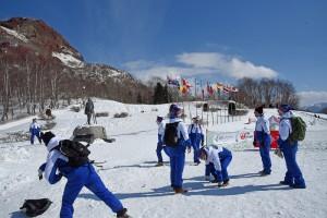 昭和新山雪合戦