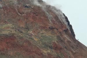 昭和新山赤壁