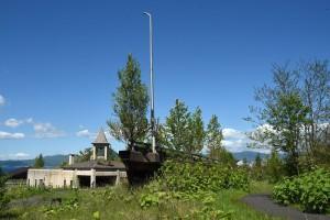 流された木の実橋
