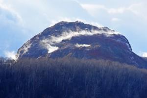 昭和新山後頭部